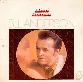 <i>Always Remember</i> 1971 studio album by Bill Anderson