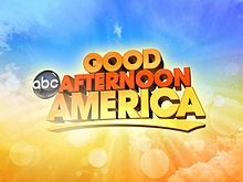 The title card for Good Afternoon America, which aired for a nine-week period.