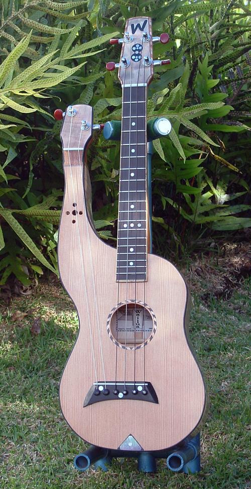 Harp Ukulele By Wailua