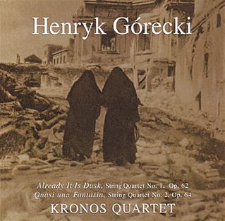 <i>Henryk Górecki: String Quartets Nos. 1 and 2</i> 1993 studio album by Kronos Quartet