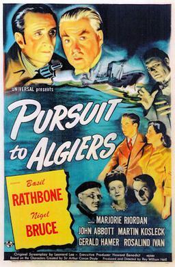Pursuit To Algiers Wikipedia