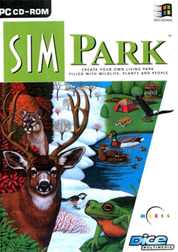 """SimPark"" Cover Art"