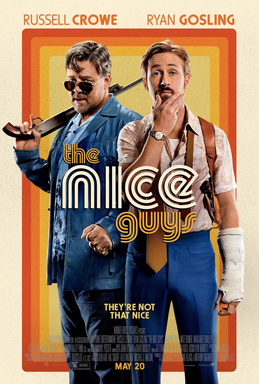 Nice Guys Poster. The poster art copyright is believed to belong to the distributor of the film, the publisher of the film or the graphic artist.
