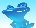 Blue Frog anti-spam software (defunct)