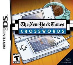 The New York Times Crosswords box art