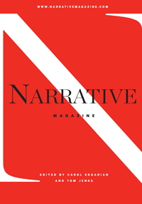 Cover of the founding issue of Narrative Magazine, Fall 2003.png