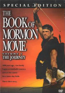 DVD cover of the movie The Book of Mormon Movie, Vol. 1.jpg