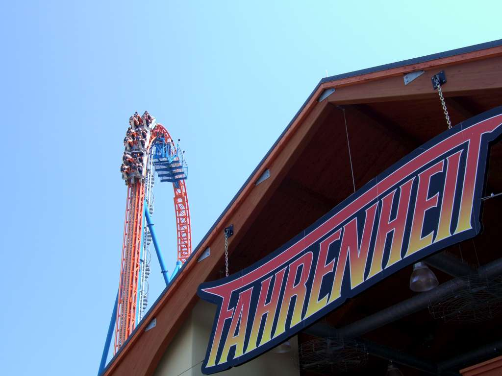 Fahrenheit Roller Coaster Wikipedia