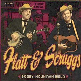 Picture of Earl Scruggs and Lester Flatt with names underneath