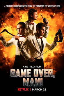 Picture of a movie: Game Over, Man