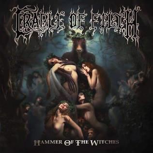 <i>Hammer of the Witches</i> 2015 studio album by Cradle of Filth