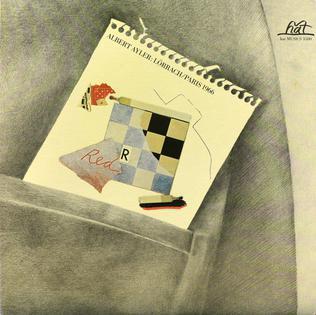 <i>Lörrach / Paris 1966</i> 1982 live album by Albert Ayler