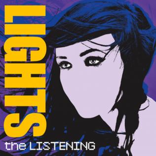 <i>The Listening</i> (Lights album) 2009 studio album by Lights