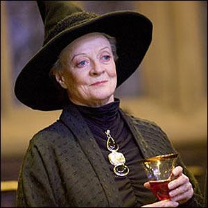 Minerva McGonagall Fictional character in the Harry Potter series universe