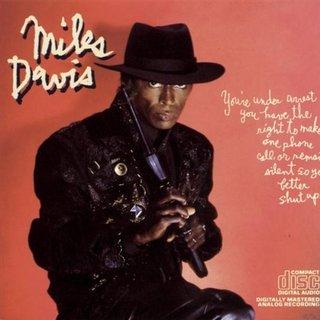 <i>Youre Under Arrest</i> (Miles Davis album) 1985 studio album by Miles Davis