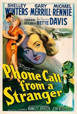 <i>Phone Call from a Stranger</i> 1952 film