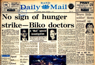 Biko's death article