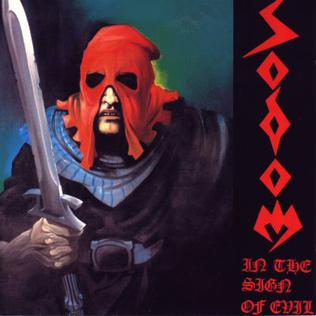 <i>In the Sign of Evil</i> EP by German thrash metal band Sodom