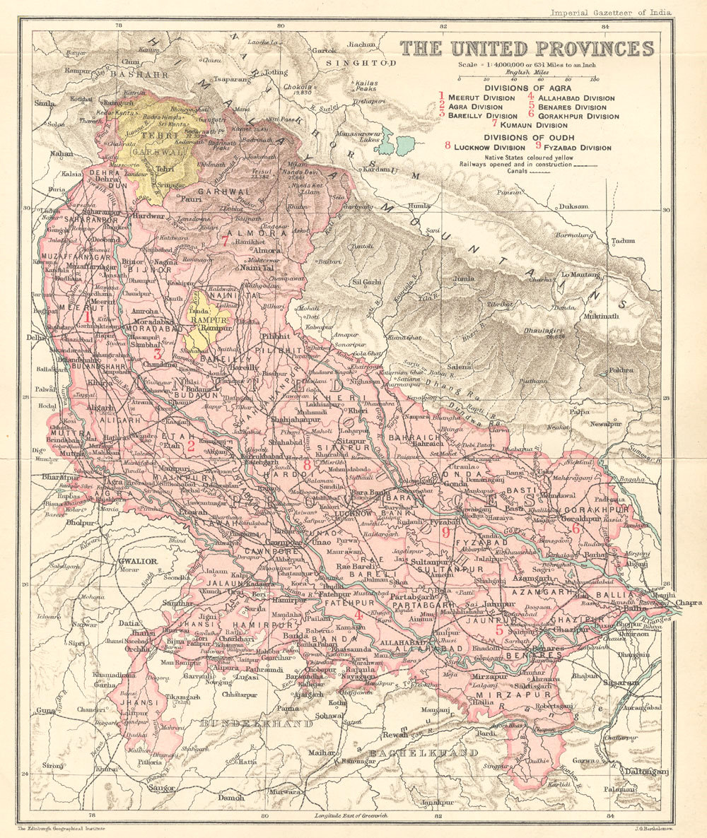 History of Uttar Pradesh  Wikipedia