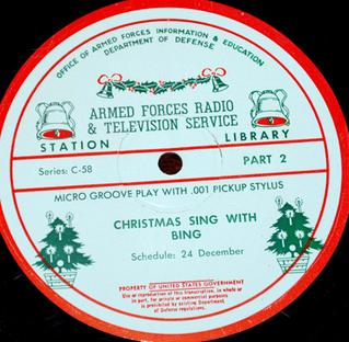 <i>A Christmas Sing with Bing</i> (1955–1962)