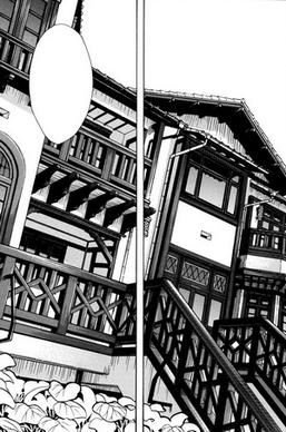 The Entrance To Kura Museum Of Literature And Equivalent Scene Used For Exterior Fujia S Academy From Sweet Blue Flowers Volume