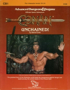 Cover of CB1 Conan Unchained!