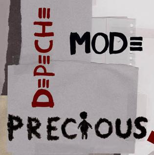 Depeche Mode - Precious single cover