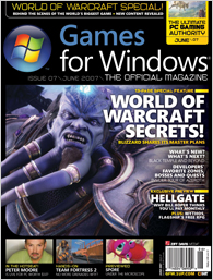 <i>Games for Windows: The Official Magazine</i> magazine