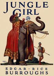 <i>Jungle Girl</i> (novel) novel by Edgar Rice Burroughs