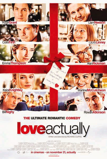 Love Actually is a Christmas movie loved by a lot of people.