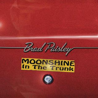 <i>Moonshine in the Trunk</i> 2014 studio album by Brad Paisley