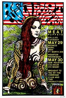 Blood sugar sex magik tour poster fantastic