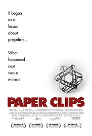 Paper Clips Project monument honoring the Holocaust victims and a documentary