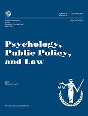 Psychology, Public Policy and Law journal cover.jpg