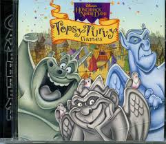 <i>The Hunchback of Notre Dame: Topsy Turvy Games</i> 1996 video game