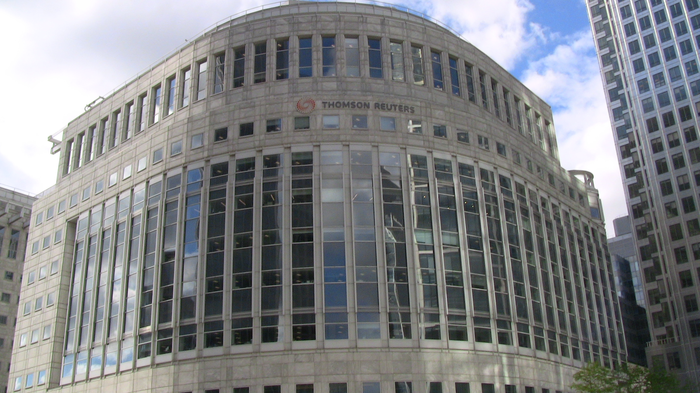 File:Thomson Reuters Building Canary Wharf jpg - Wikipedia