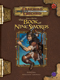 Tome of Battle, the Book of Nine Swords.jpg