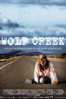 Wolf Creek (2005) movie poster