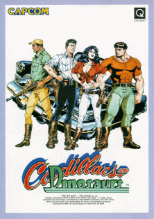Picture of a game: Cadillacs And Dinosaurs