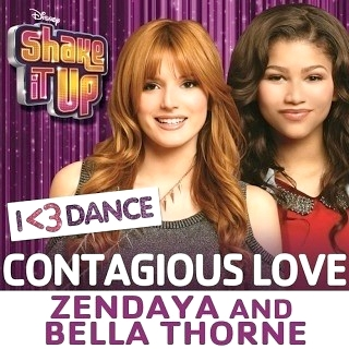 Zendaya and Bella Thorne - Contagious Love (studio acapella)