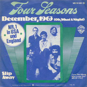 December, 1963 (Oh, What a Night) 1975 single by the Four Seasons