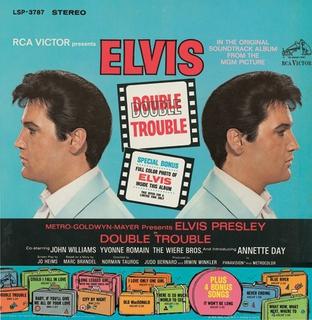 <i>Double Trouble</i> (soundtrack) 1967 soundtrack album by Elvis Presley