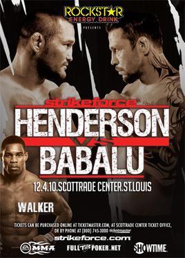 Duplicering förlorat hjärta gemenskap  Strikeforce: Henderson vs. Babalu II - Wikipedia