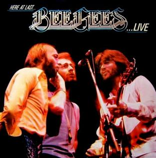 Here at Last... Bee Gees... Live artwork