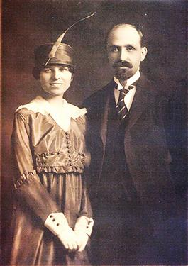 Juan Ramon Jimenez and Zenobia Campubi
