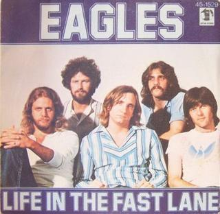 Imagem da capa da música Life in the Fast Lane de Eagles
