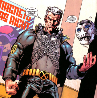 Xorn unmasks himself as Magneto