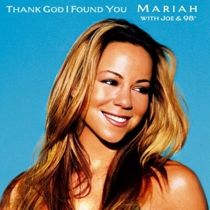 Mariah Carey featuring Joe and 98 Degrees — Thank God I Found You (studio acapella)