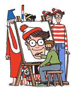 Where's Wally? (oh, those kooky Brits)