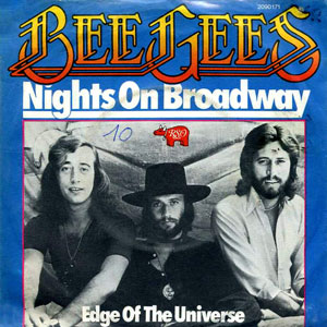 bee gees nights on broadway